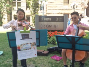 Event_Scotiabank fundraisers 2015_buskers