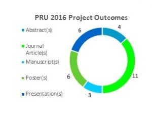 PRU 2016 Project Outcomes