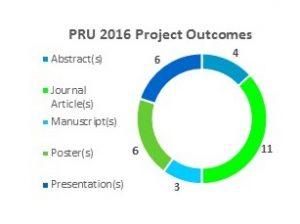 PRU 2016 Project Outcomes