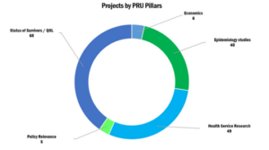 PRU Projects by Pillar
